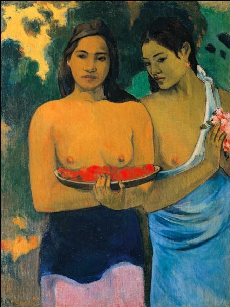 """Qui a peint """"Les Seins aux fleurs rouges"""" ?"""
