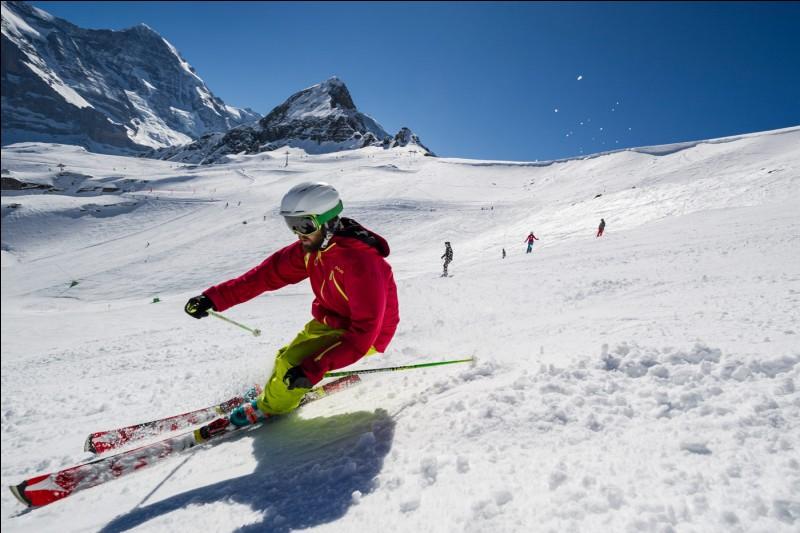 """Lequel des sports suivants traduit """"ski"""" ?"""