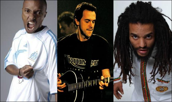 Lequel de ces chanteurs n'est pas d'origine réunionnaise ?