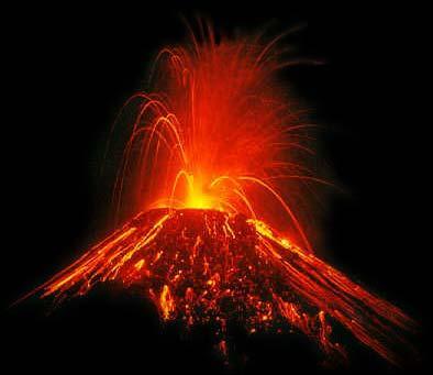 Quel est le nom du volcan actif ?