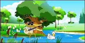 Près d'un ruisseau, un petit crapaud jouait du banjo. Que faisaient tous les animaux ?
