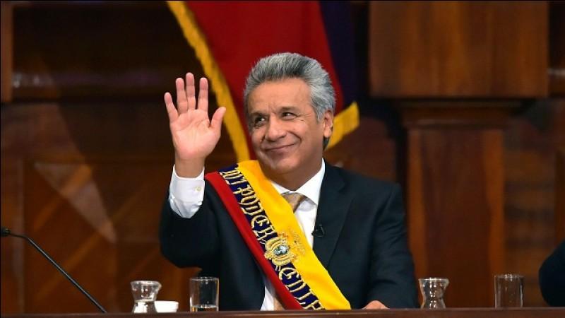Depuis combien d'année Lenín Moreno est president?