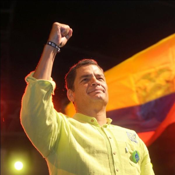 Quel est le President de l'Equateur?