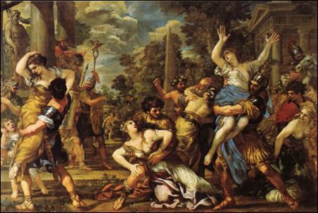 Les oeuvres baroques montrent beaucoup de mouvement et d'effets dramatiques.