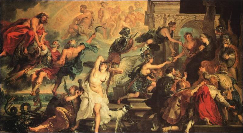 Voici un tableau de Pierre-Paul Rubens. Cochez la mauvaise réponse.