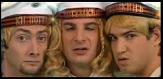 En 2004, dans l'émission ''Star Academy'', qui a repris en kilt ''Stach Stach'' des Bratisla Boys (alias Michaël Youn, Vincent Desagnat et Benjamin Morgaine) ?