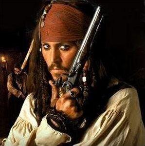 Les personnages de Pirates de Caraibes