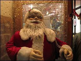 Ah, Père Noël, mais comment s'appelle-t-il aux U.S.A ?