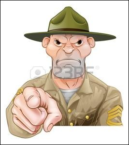 Un sergent instructeur, une baleine, un guignol, le Vietnam rentrerez-vous au pays sur vos deux jambes ou dans un cercueil plombé dans ..