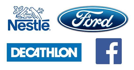 Des marques au logo bleu (1)