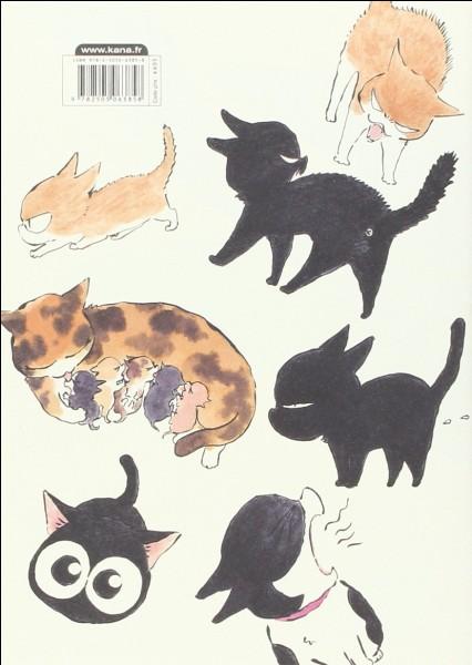 """Dans « Kuro, un cœur de chat », livre qui n'est pas encore adapté en anime au moment de la publication de ce quiz, que veut dire """"Kuro"""", son prénom ?"""