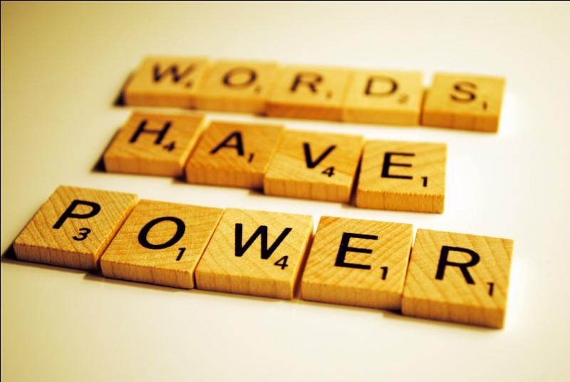 Le mot que tu préfères entre ceux-là est...