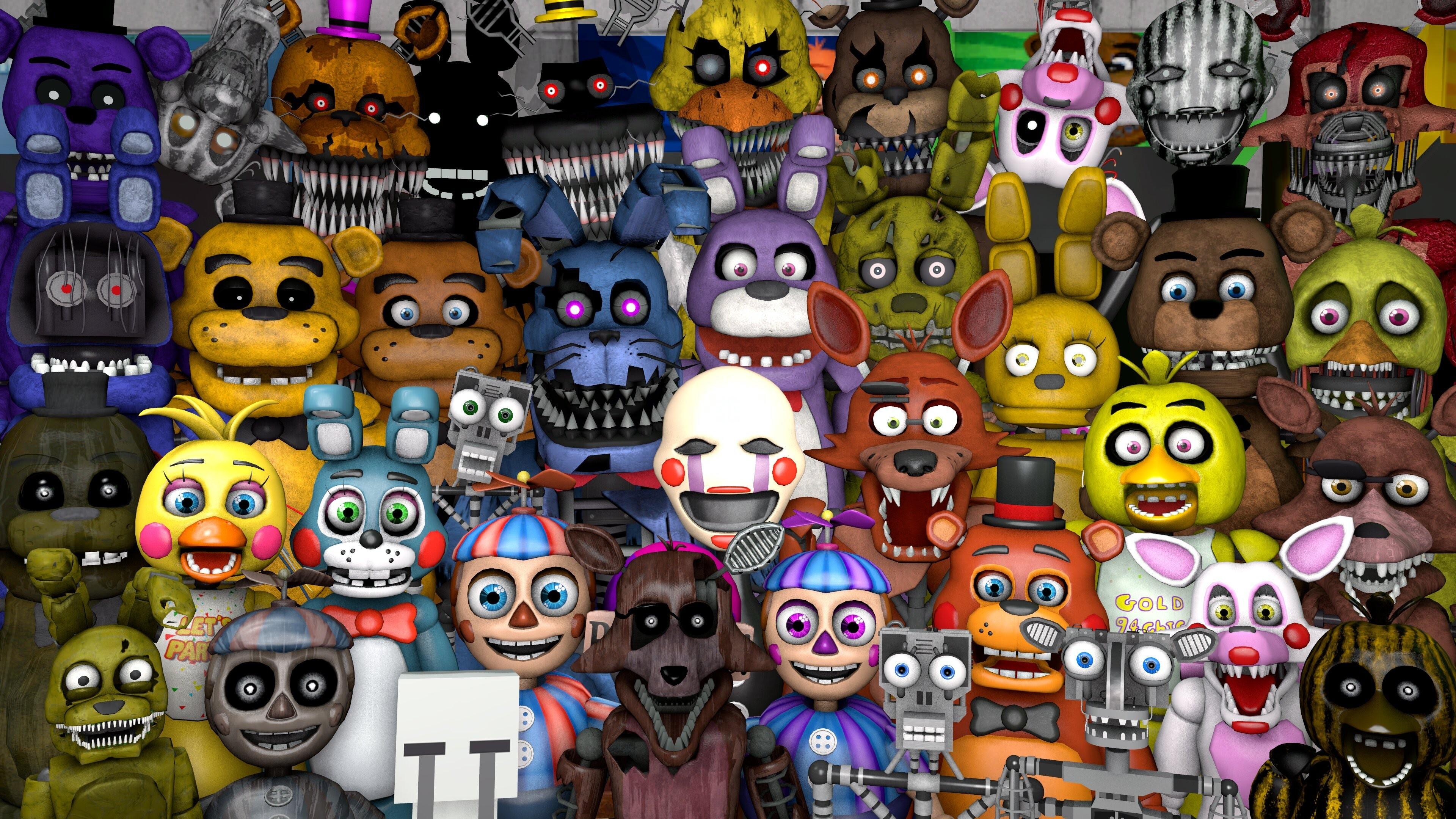 Quel animatronique de « FNAF 2 » es-tu ?