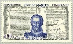 Histoire - Quel roi a signé la Révocation de l'édit de Nantes ?