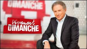 """Télévision - En quelle année a débuté l'émission """"Vivement dimanche"""" présenté par Michel Drucker ?"""