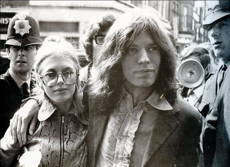 """En 1965, les Rolling Stones obtiennent """"Satisfaction""""."""