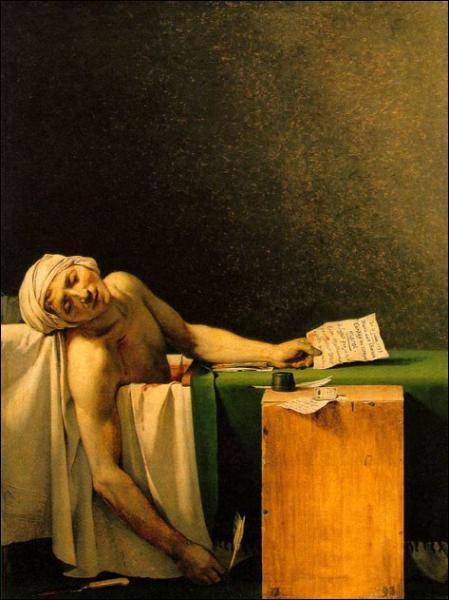 Quel est le titre de cette peinture de Jacques-Louis David ?