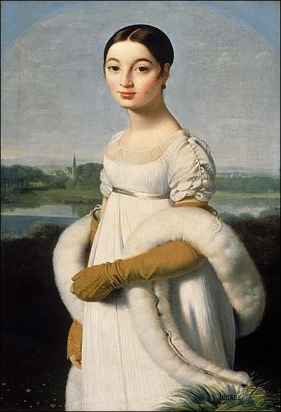 Voici 'Le Portrait de Mademoiselle Rivière' de Jean-Auguste-Dominique Ingres. Ce tableau est-il néoclassique ?