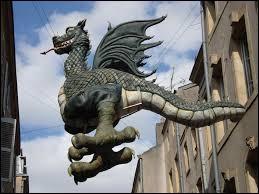 Le Graoully est un un dragon mythique de cette ville.