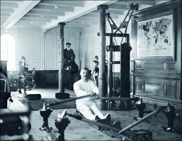 Une salle de gymnastique en 1912 , où ?
