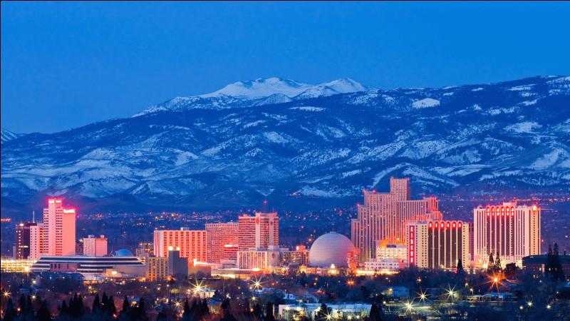 Cette ville américaine, ville du jeu et seconde ville du Nevada, c'est :