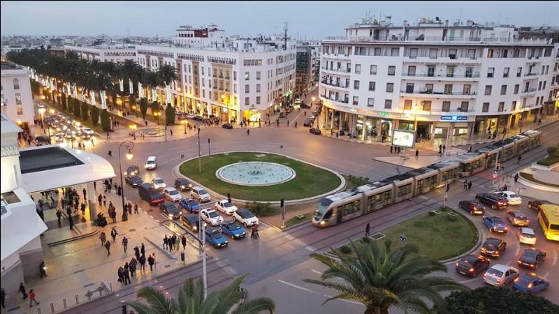 Cette ville d'Afrique du nord, capitale du Maroc, c'est :