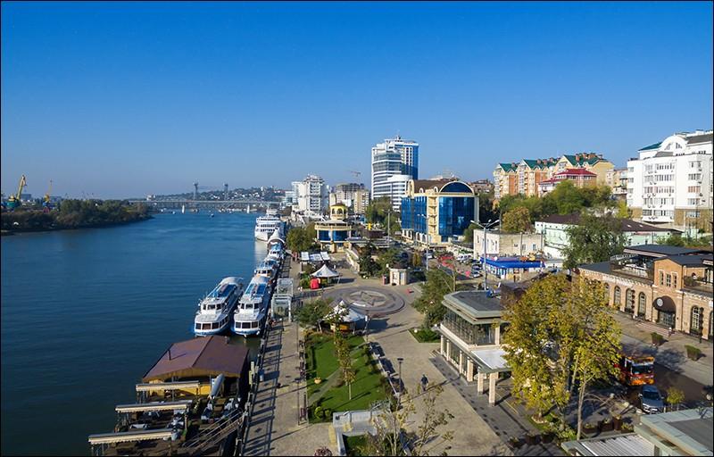 Cette ville russe sur le Don, peuplée de 1,2 millions d'habitants, principal centre du sud de la Russie, c'est :