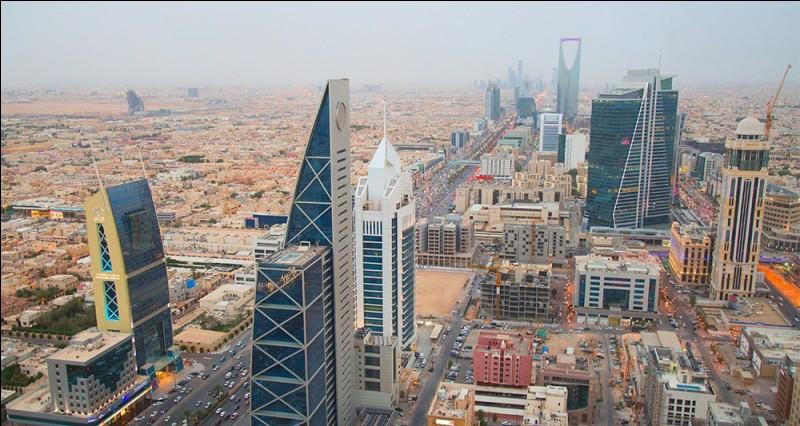 Cette ville, capitale de l'Arabie Saoudite, qui s'étend sur un plateau désertique, c'est :