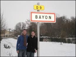 À Bayon (Meurthe-et-Moselle), les habitants portent le même gentilé que les habitants de Bayonne (Pyrénées-Atlantiques). Il se nomment donc les ...