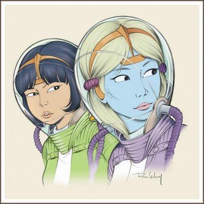 Malgré l'existence d'un lien fort, Yoko se pose parfois des questions sur cette amie d'un autre monde.