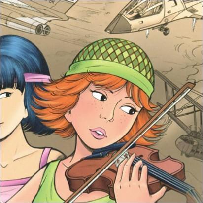 Lors de son aventure sud américaine, Yoko rencontre cette jeune adolescente, violonniste comme sa regrettée mère.