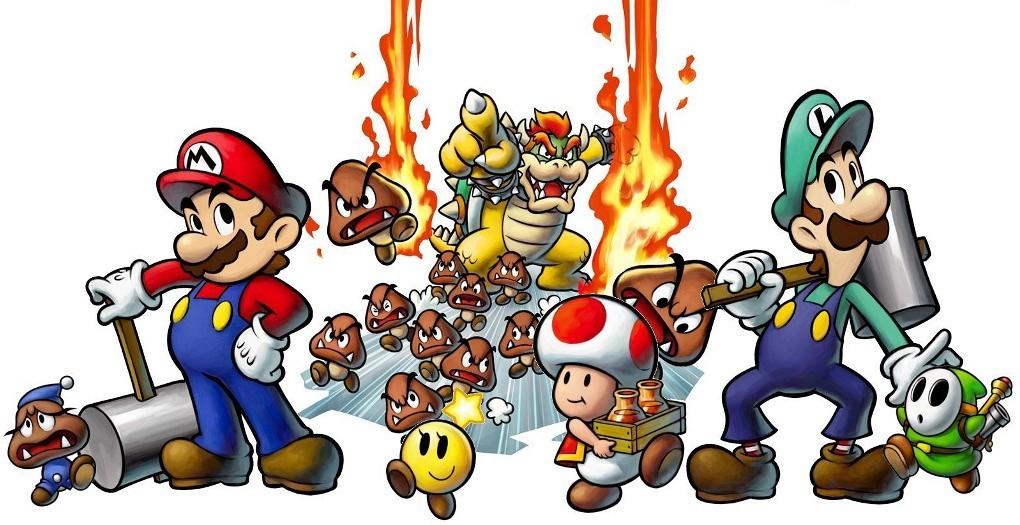 Les personnages secondaires de la série « Mario et Luigi »