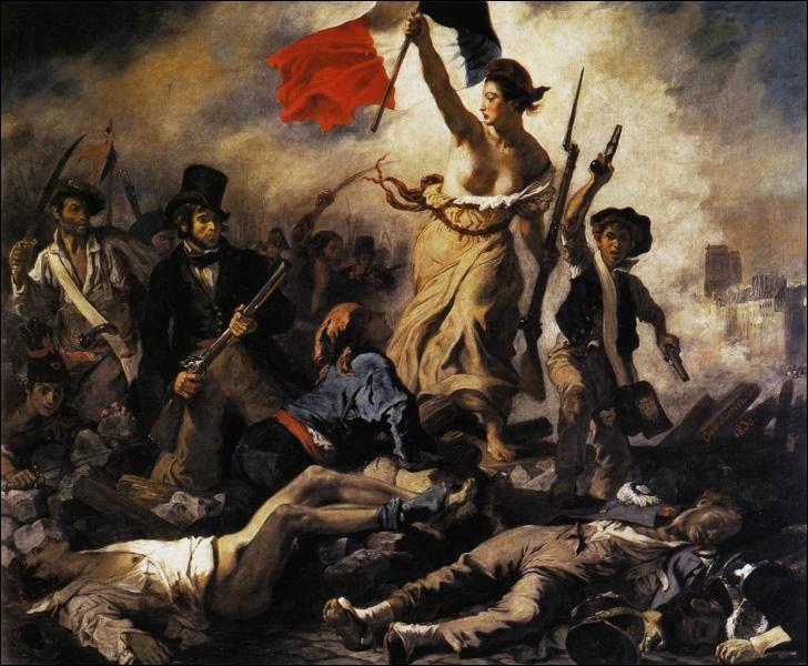 Voici l'un des plus célèbres tableaux de Delacroix. Quel est son titre ?