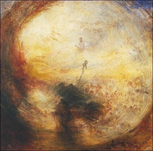 Voici une oeuvre de William Turner. Quel personnage a-t-il peint sur ce tableau ?