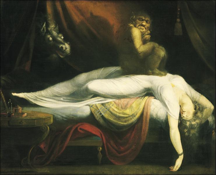 Quelle est la nationalité de Johann Heinrich Füssli qui a peint ce 'Cauchemar' ?