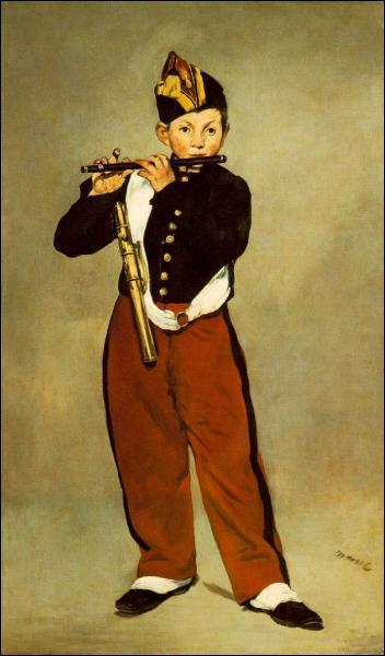 Comment s'appelle cette toile de Manet ?
