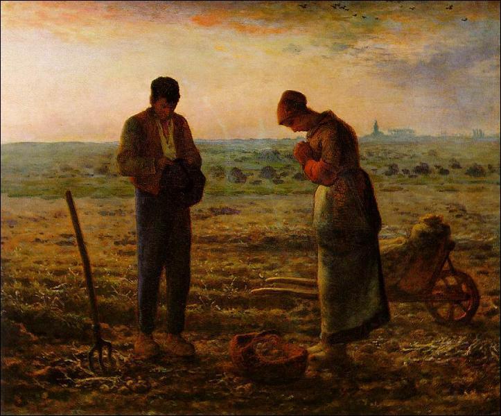 Millet est connu pour ses scènes champêtres. Ce tableau s'appelle ...