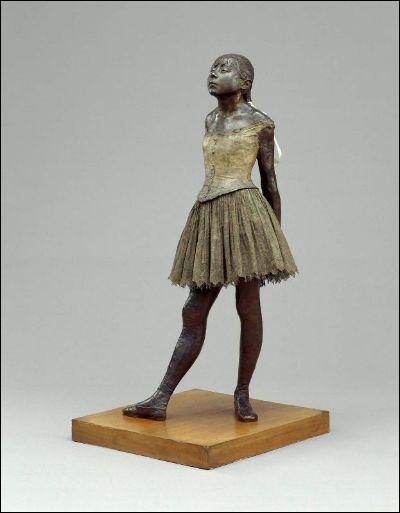 Avec, entre autre, sa 'Petite danseuse de quatorze ans', lequel de ces artistes est l'un des rares impressionnistes sculpteur ?
