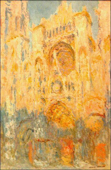 Quel édifice Monet a-t-il peint plusieurs fois ?