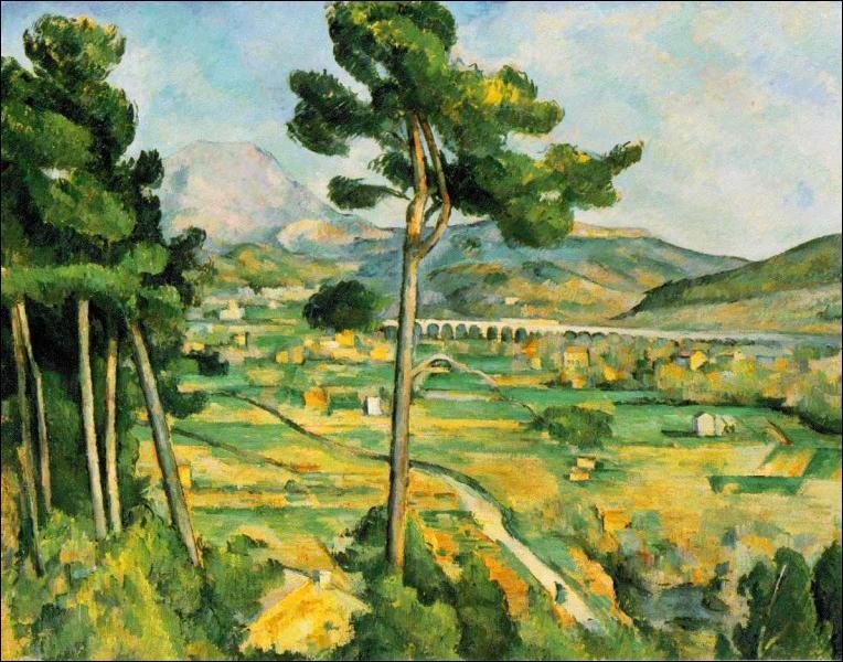 Laquelle de ces oeuvres est une oeuvre de Cézanne ?
