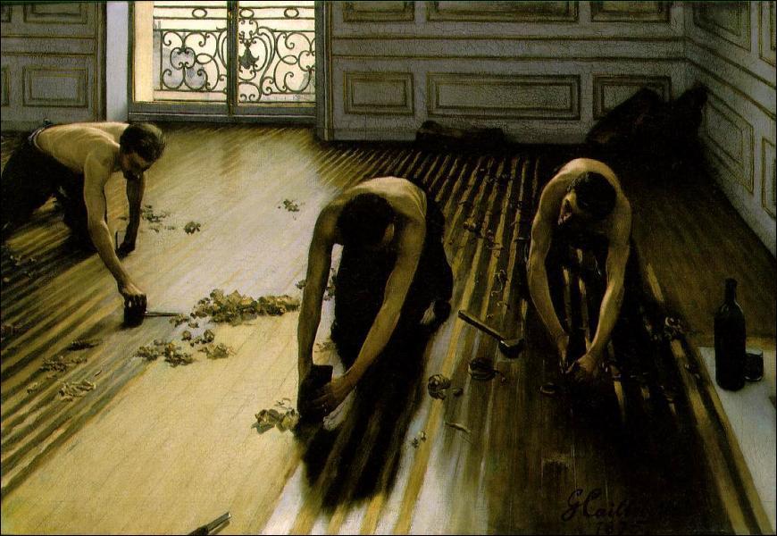 Qui a peint 'Les Raboteurs du parquet' ?