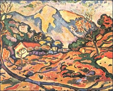 Quel artiste a peint cette toile, intitulée 'La Ciotat' ?