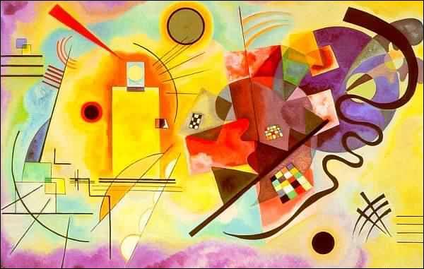 L'autre groupe important de l'expressionnisme, 'Der Blaue Reiter', comptait parmi ses rangs l'artiste qui a peint cette oeuvre. Qui était-ce ?