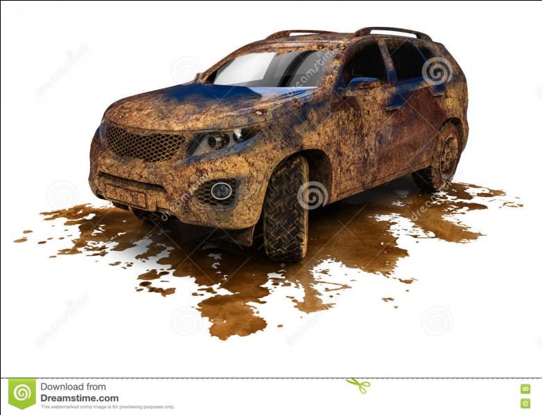 Le barbouilleur de voitures est rétribué par un propriétaire de station-service de lavage, pour salir volontairement et discrètement les voitures de futurs clients.