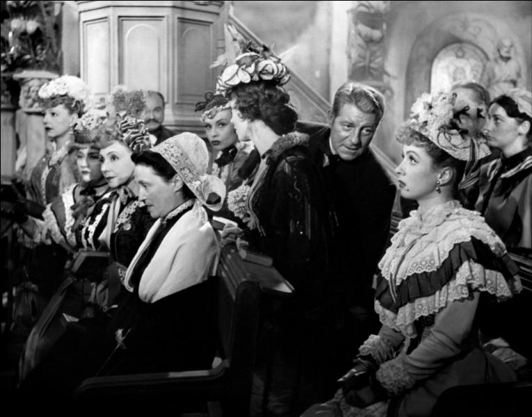 """Qui jouait, en 1952, aux côtés de Gabin et Daniel Gélin, dans le film """"Le Plaisir"""" ?"""