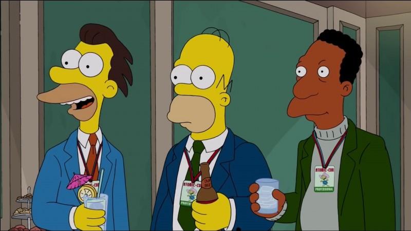 Comment s'appellent les 2 meilleurs amis d'Homer ?