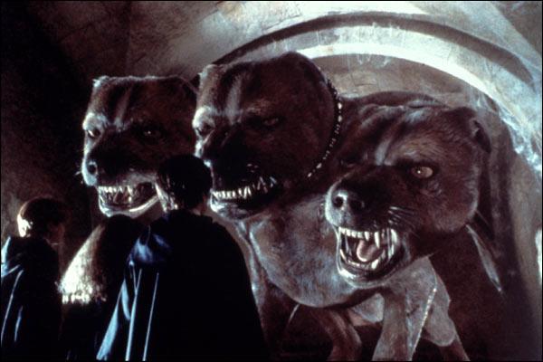 A quel étage du chateau peut-on trouver un chien à trois têtes ?