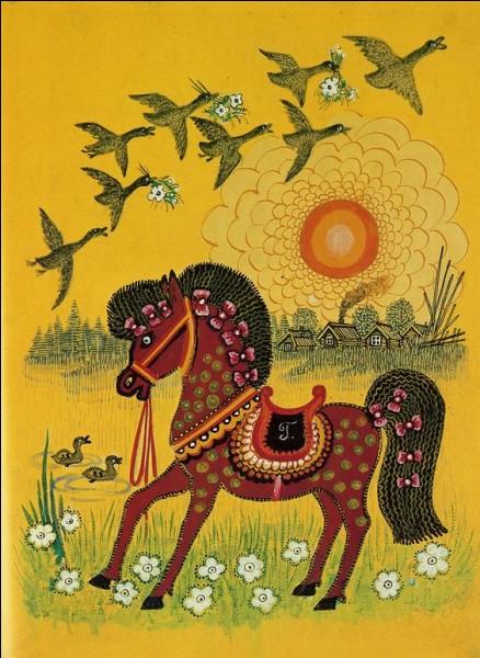 Comment est le cheval dans un livre d'Agatha Christie ?