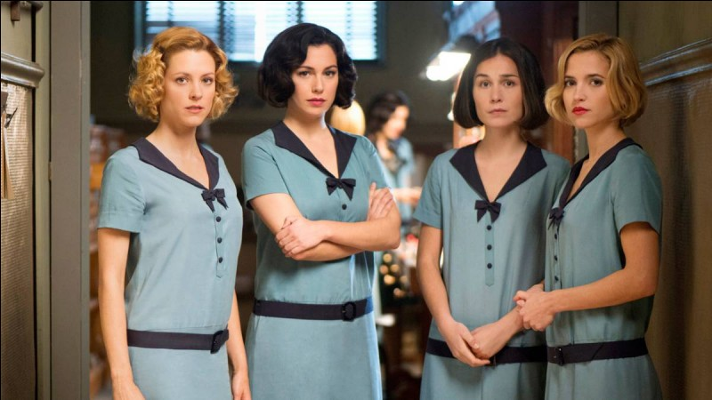 ''Las chicas del cable'' est une série...
