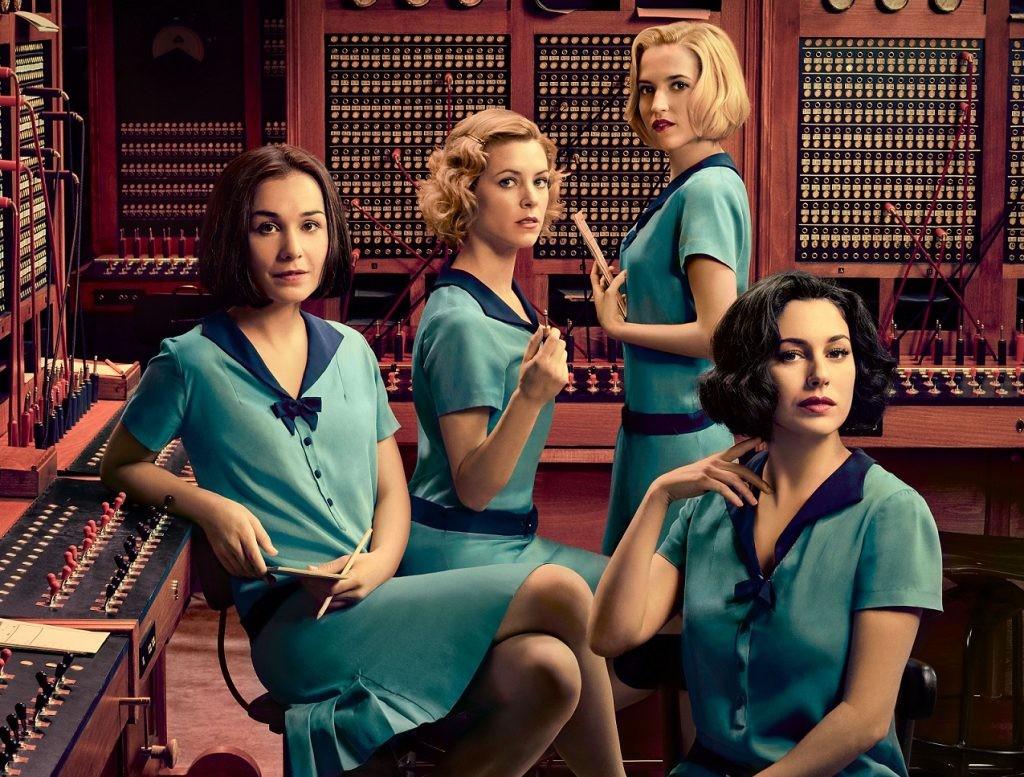 Las chicas del cable (saisons 1,2,3)